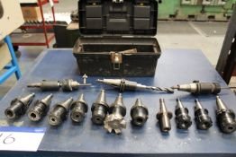 Quantity of Tools and Toolholders, as set out