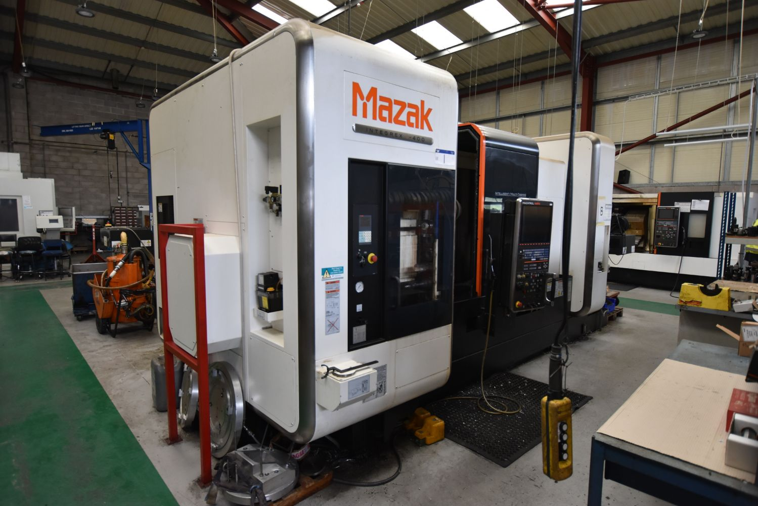 Major 2 Day Sale - Excellent CNC Machining/Turning Centres, Machine Tools, Fab Eqpt, Residual Stock, Fork Truck & Vehicle (over 1000 lots)