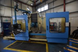 Correa A25/25 CNC BED TYPE MILLING MACHINE, serial