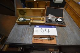 Assorted Measuring Equipment, as set out