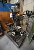 Bridgeport TURRET HEAD MILLING MACHINE, serial no.