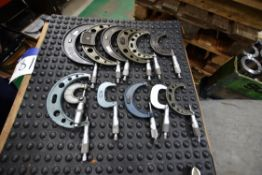 12 Mainly Metric Micrometers