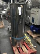 Hot Water Tank, with pump and valves, approx. 1200mm x 1800mm x 1600mm high, £50 lift out charge (