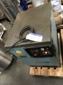 Rollair 1500 Air Compressor, approx. 1000mm long x 800mm wide x 1100mm high, £50 lift out charge