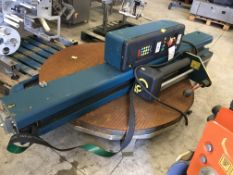 Robopac Rotoplat 105/FRO Pallet Wrapping Machine, approx. 2900mm (upright) x 1650mm wide, £100