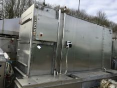 IWM CRUSADER RACK WASHER, 5800mm x 2000mm x 3100mm high, £500 lift out charge