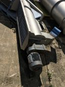 Kiremko Screw Auger Conveyor, 3000mm long x 600mm wide x 1600mm high, £50 lift out charge