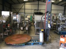 Robopac Pallet Wrapping Machine, approx. 1650mm x 2650mm x 2500mm high, £100 lift out charge (ref