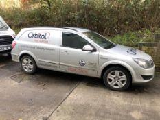 Vauxhall Astravan 1.7 CDTi 125 Diesel Van, registration no. AV13 GAA, date first registered 05/2013,