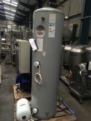 Kingspan Immersion Heater, 300 litre cap., approx. 600mm long x 600mm wide x 2200mm high, £50 lift