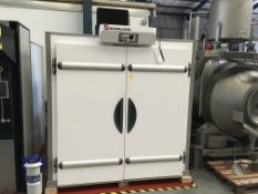 BFC Retarder Proofer Chamber, serial no. 9300000000046283, approx. 2200mm x 1200mm x 2600mm high, £