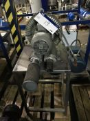 Elmo Rietschie Blower Unit, table mounted, approx. 700mm long x 500mm wide x 1200mm high, £30 lift