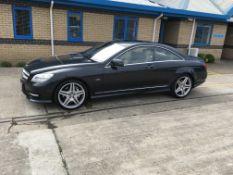 Mercedes Benz CL500 4.6 PETROL TWO DOOR COUPE, registration no. AF61 MGO, date first registered 09/