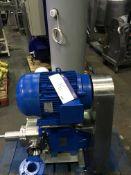 Pureflo Lobe Pump, serial no. D1 2S40 ITT Jabsco, approx. 900mm long x 500mm wide x 900mm high, £