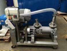 Mobile Pump, approx. 1200mm long x 500mm wide x 1200mm, £50 lift out charge