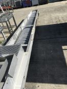 Bead Engineering 5800mm Auger Conveyor, auger width approx. 380mm x 1500mm high, £100 lift out