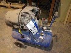 DRAPER 29355 Receiver Mounted Air Compressor, s/n 180600210