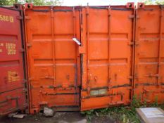 30ft Steel Container (will need electrics disconnecting) (Delivery Reserved Until Contents Removed)