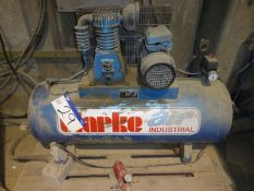 CLARKE AIR SF16C150 Receiver Mounted Air Compressor s/n 58911, year of manufacture 2006
