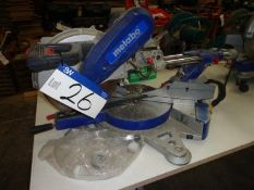 METABO KGS305 Universal Mitre Saw, 110V s/n 8302232429, year of manufacture 2008
