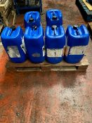 Six 25 Litre Drums of Degreaser, as set out,loadi