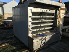 Winkler Five Deck Gas Oven, loading free of charge