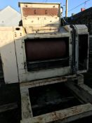 Buhler Roller Flaking Mill, serial no. 76399, with