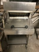 Mobile Bread Slicer, loading free of charge - YES