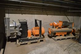 PELLETING PRESS, understood to be reconditioned, 5