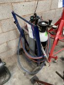 Oxyacetylene Bottle Trolley, with regulators, cutter and hoses (bottles excluded)