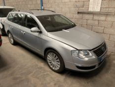Volkswagen PASSAT HIGHLINE TDI 110 DIESEL ESTATE, registration no. KS09 SYR, date first registered