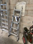 Foldable Alloy Stepladder