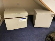 Two Steel Cabinets