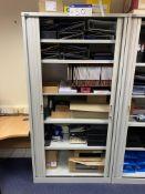 Roneo Tambour Door Cabinet