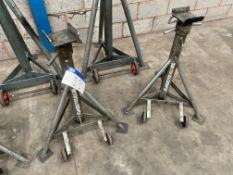 Two Somers Totalkare 7.5t swl Axle Stands