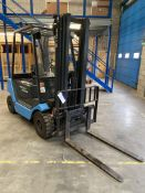 Still R 70-25 2500KG DIESEL FORK LIFT TRUCK, serial no. 517033002993, year of manufacture 1995,