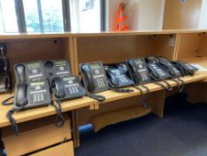15 Assorted Avaya Telephone Handsets, mainly model 1408