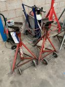 Two Somers 7.5t swl Axle Stands