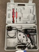 Workshop Soldering Gun, 240V, with carry case