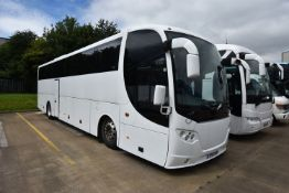 Scania K400 EB OMMI EXPRESS SALOON COACH, registra