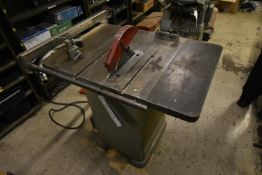 Wadkin Bursgreen 10in. A.G.S. Saw Bench, serial no
