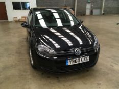 Volkswagen Golf 5dr 1.6 TDI, registration no. YB60
