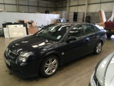 Vauxhall Vectra 1.9 SRI TDI, registration no. MA05