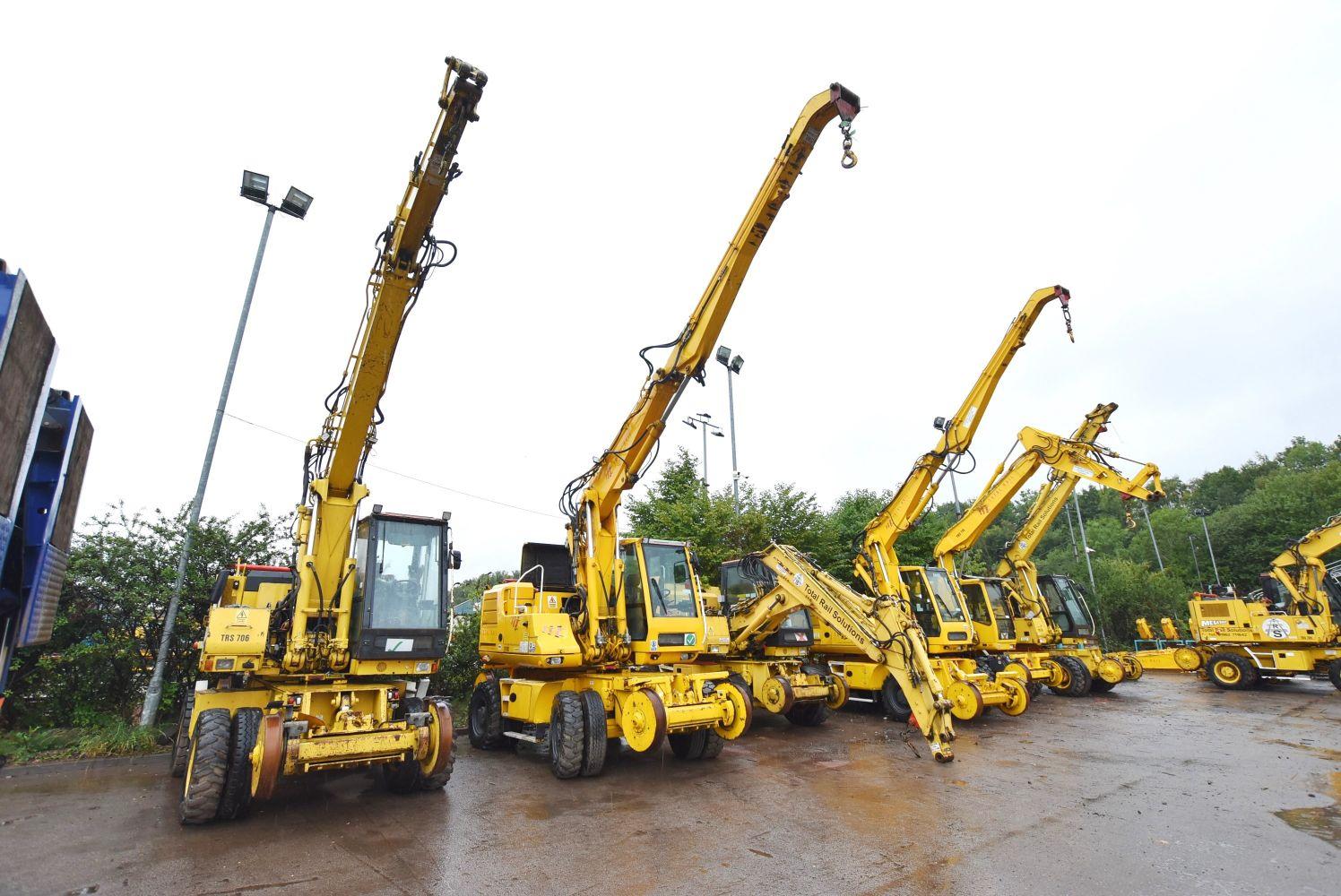 Road Rail Maintenance Contractors Plant (w6a gauge) and Equipment