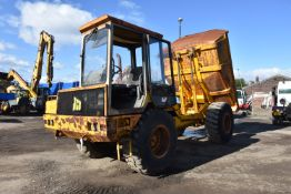 JCB 712 ARTICULATED DUMP TRUCK, serial no. 803231S (lot located at 55 Clifton Street, Miles