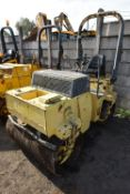 Bomag BW120AD VIBRATORY ROLLER, serial no. 101170030566, 2470kg operating weight (lot located at