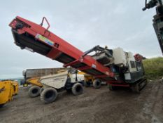 Sandvik QJ241 TRACKED JAW CRUSHER, serial no. A17QJ241007, year of manufacture 2017, indicated hours