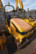 JCB VMT260-120 VIBROMAX VIBRATORY ROLLER, serial no. 1701216, year of manufacture 2008, 2700kg
