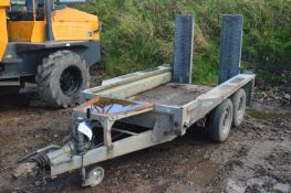 Ifor Williams GX84 Tandem Axle Trailer, serial no. SCK600000504450754, 2700kg cap. (lot located at