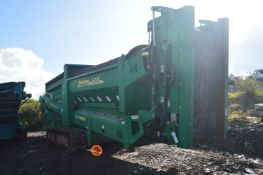 McCloskey 516RI 4x4 1-877 TRACK MOUNTED TROMMEL, serial no. 56271, year of manufacture 2016,